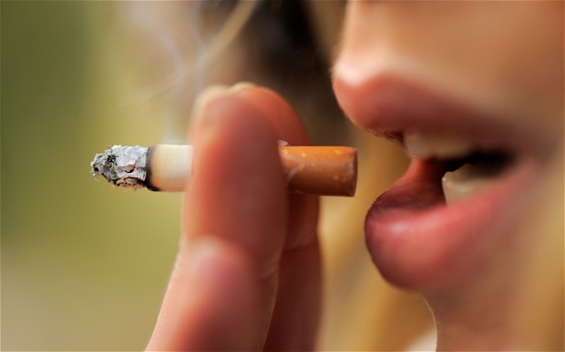 Някои заклети пушачи остават с напълно здрави бели дробове?