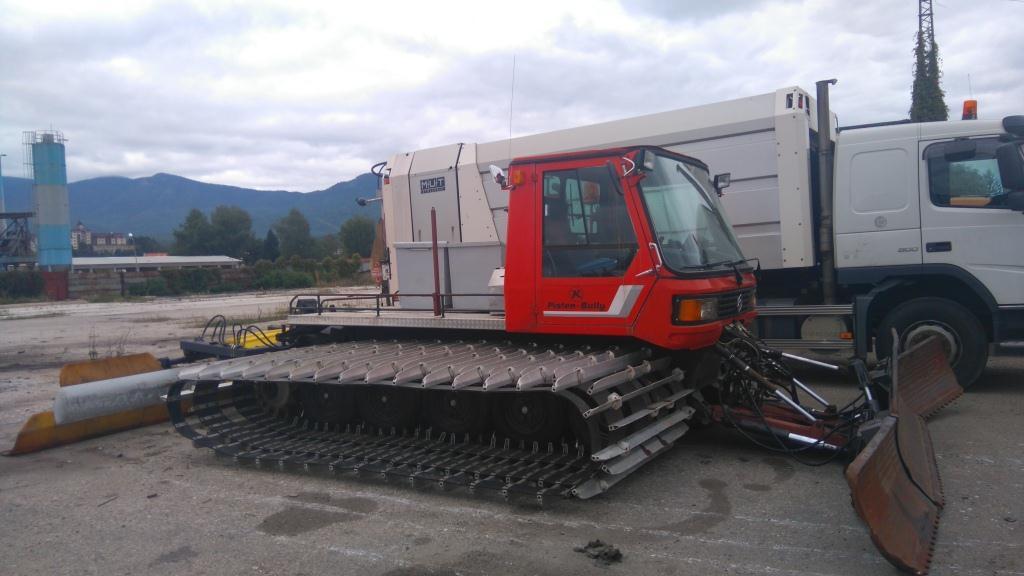 Община Велинград закупи снегопочистваща машина рат-трак.