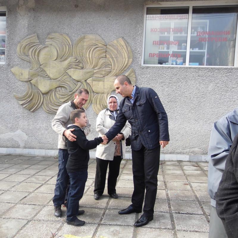 Цветан Цветанов в Сърница: Аки Пехлеван ще получи пълна подкрепа от ПГ на ГЕРБ и от правителството на Бойко Борисов