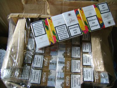 Велинградчанин заловен със контрабандни цигари