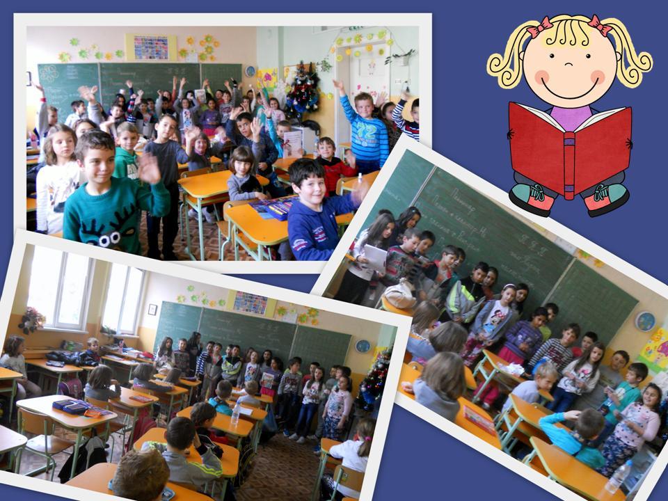 """Национална седмица на четенето в ОУ""""Христо Ботев""""- Велинград"""