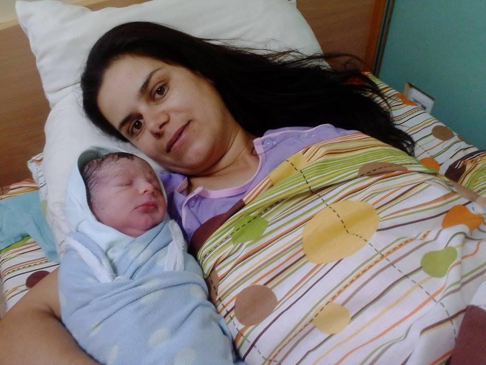 Януари поднася поредното новородено бебе Николай от Дорково