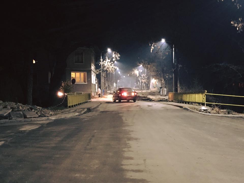 Асфалтиране в квартал Каменица