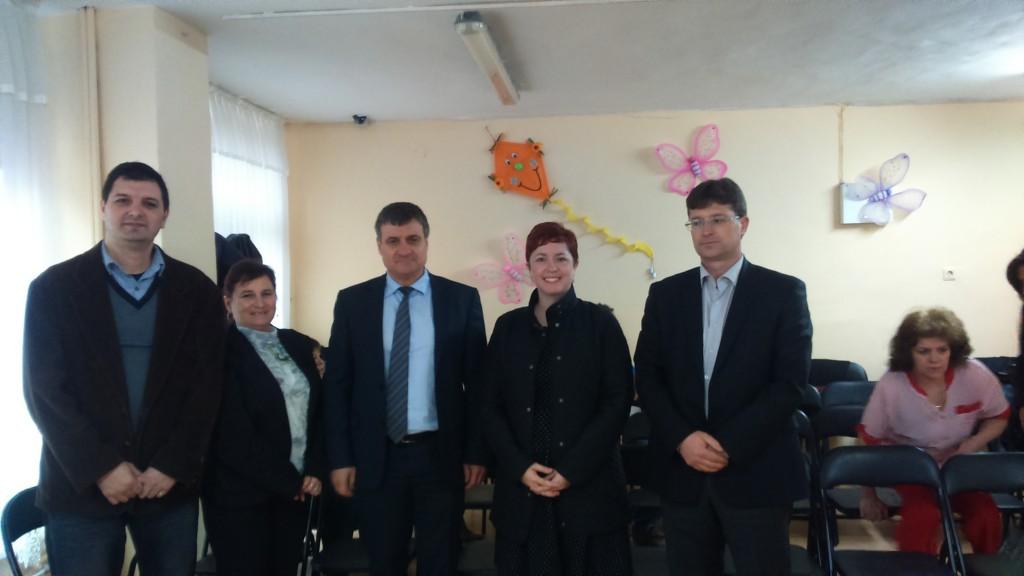 """Кметът Костадин Коев на среща с малчуганите в Целодневна детска градина """"Еделвайс"""""""