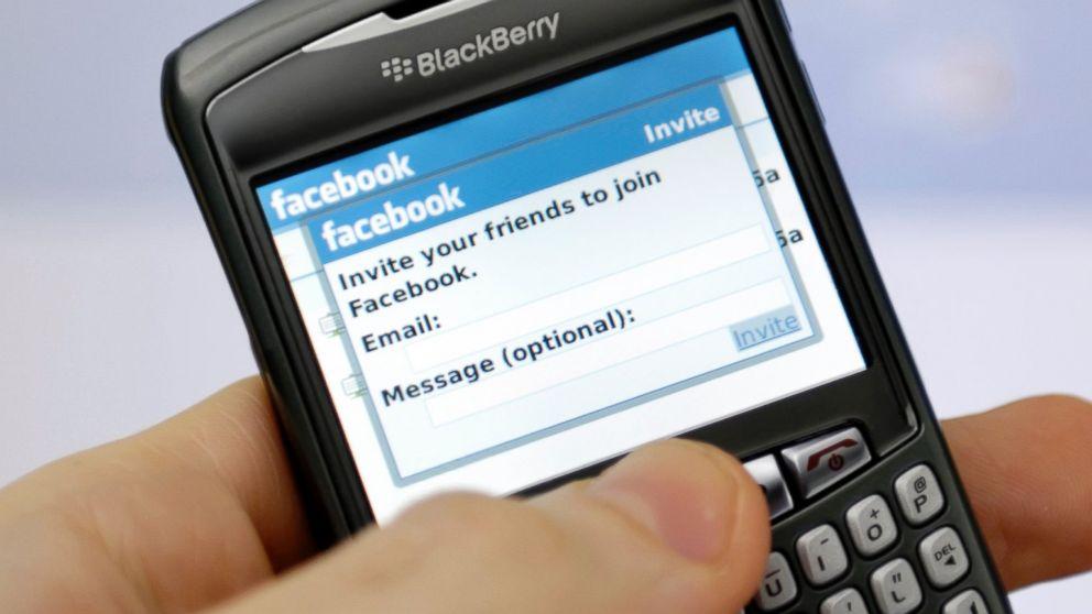 И Facebook заряза BlackBerry