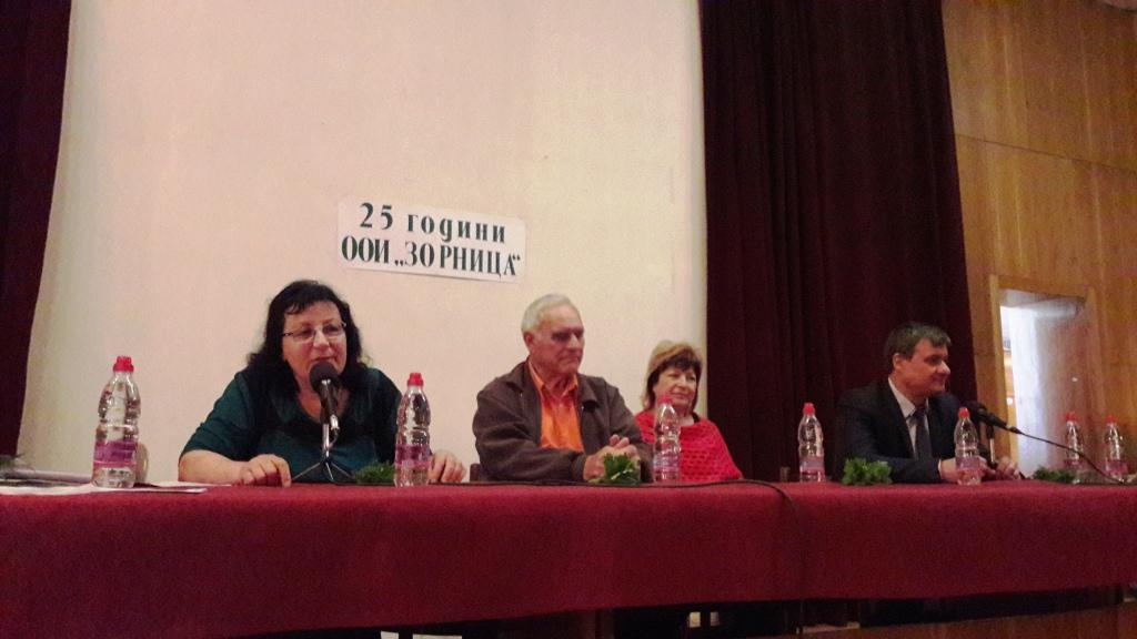 """Кметът д-р Костадин Коев присъства на годишно отчетно-изборно събрание на клуб """"Зорница"""""""