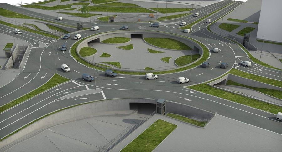 Предложение за изграждане на кръстовище с кръгово движение между пътищата І-8 Пазарджик-София и ІІІ-8402 Септември-Велинград