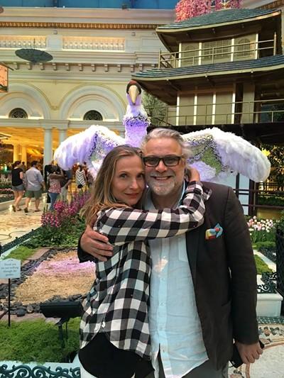 Владо Пенев в Лас Вегас, посрещна го Ваня Цветкова, в която бил влюбен