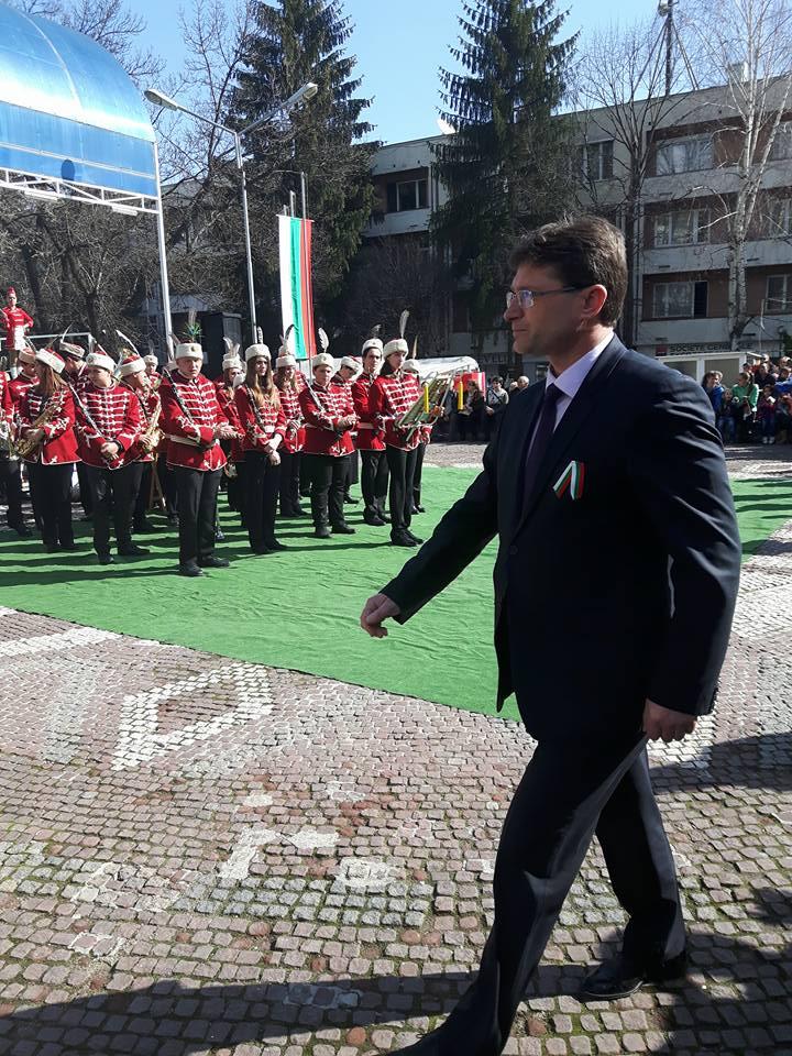 Заместник-кметът Сергей Кичиков на среща с Български Хелзински комитет
