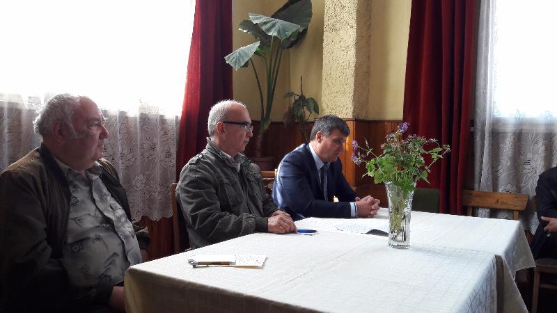 Кметът Костадин Коев с приемни дни в пенсионерските клубове