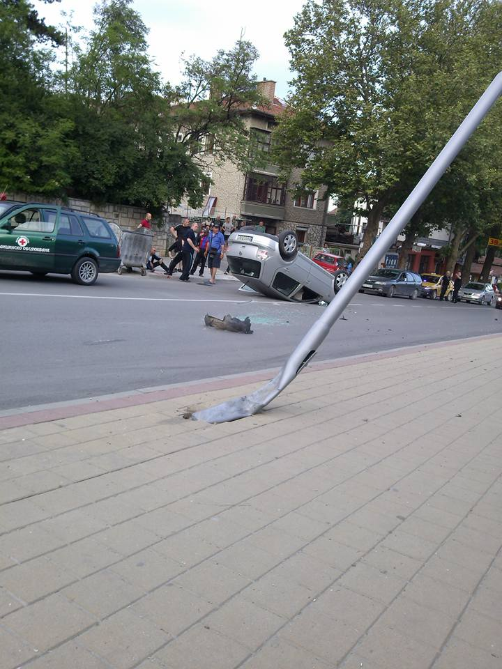 Катастрофа на булевард Съединение до хотел РИЧ