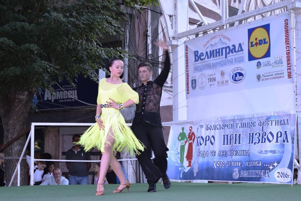 """Концерт на клуб по спортни танци """"Импулс"""" (снимки)"""