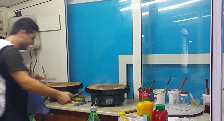 Велинградският майстор на палачинки (Видео)