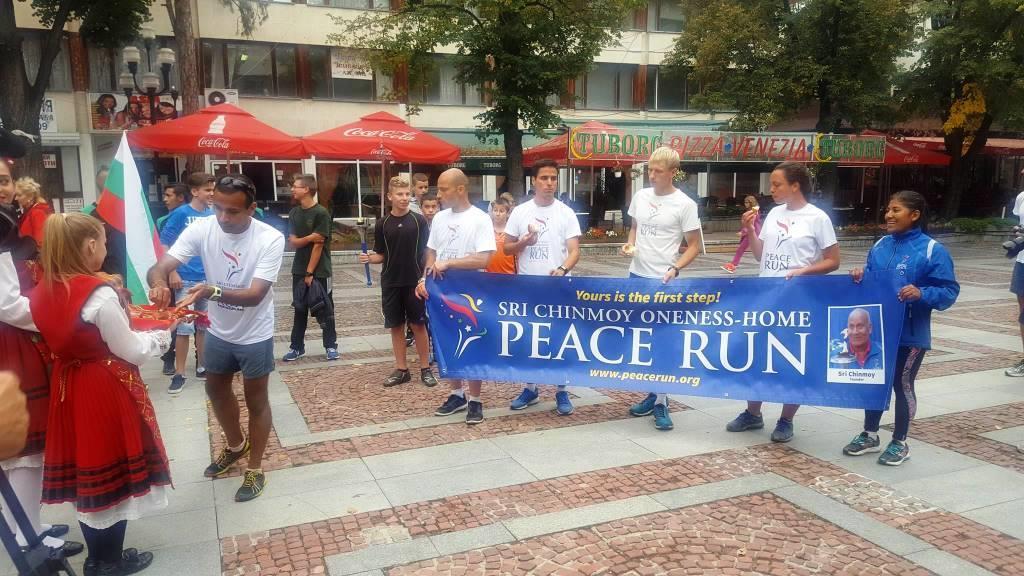 Велинград посрещна за трети път Световния пробег за мир