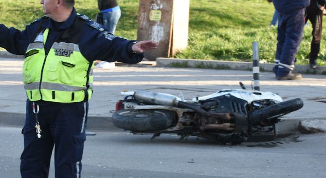 Мотоциклетист е починал при тежко пътно-транспортно произшествие на пътя Велинград- Варвара