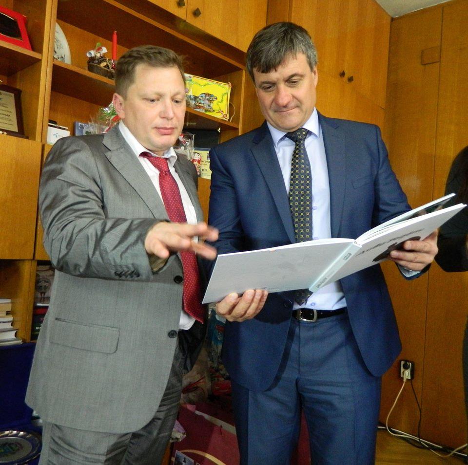 Михаил Малцев във facebook профила си. Едно ползотворно посещение на Велинград, България.