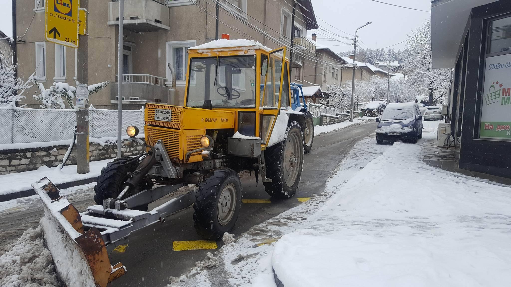 Браво: Община Велинград почистена от снега
