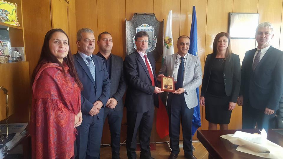 Община Велинград посрещна посланика на Палестина