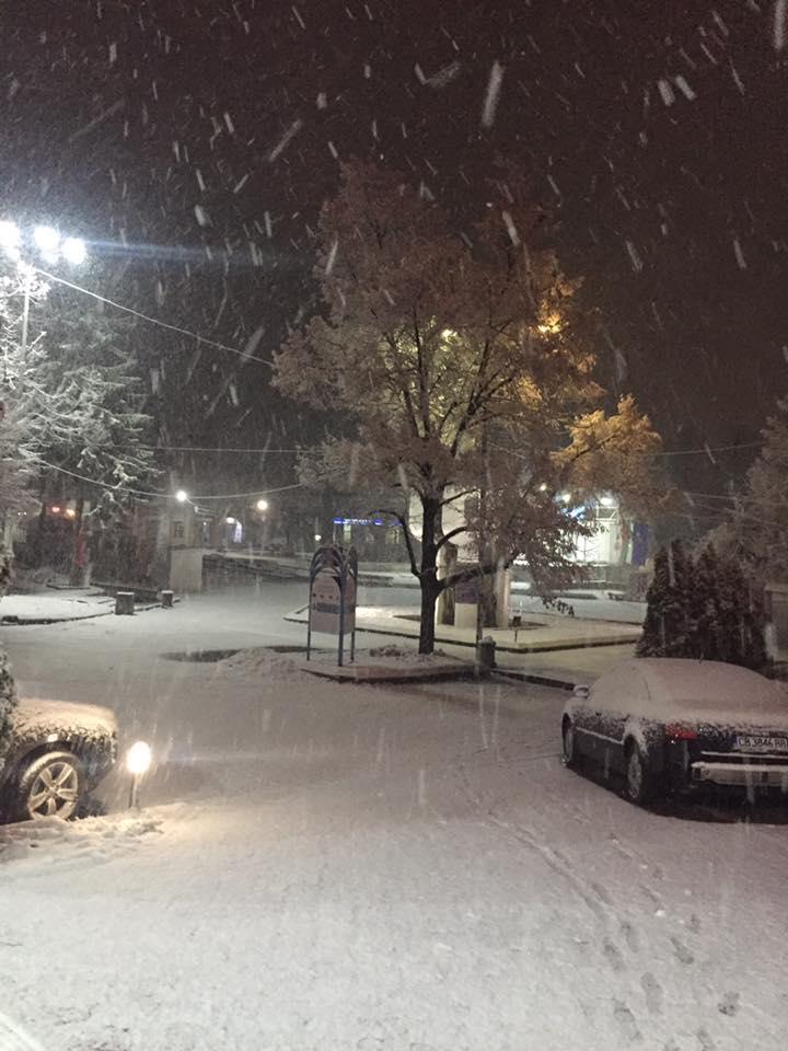 На територията на Област-Пазарджик има снеговалеж, който още от снощи е особено интензивен във високите части