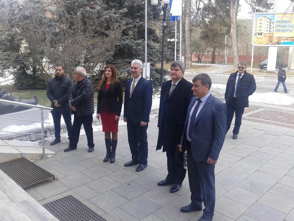 Посланикът на Беларус се срещна с кмета на Община Велинград