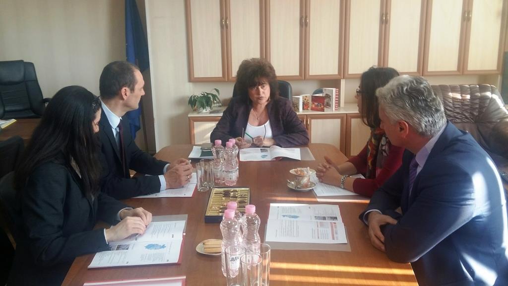Областният управител се срещна с ръководството на EVN България