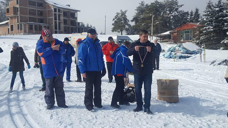 Приключи Националното състезание по ски бягане за деца с нарушено зрение