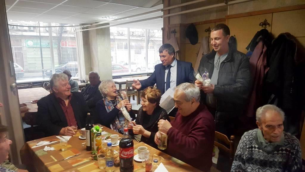 Кметът на Община Велинград бе поканен и в клуба на пенсионера в Лъджене