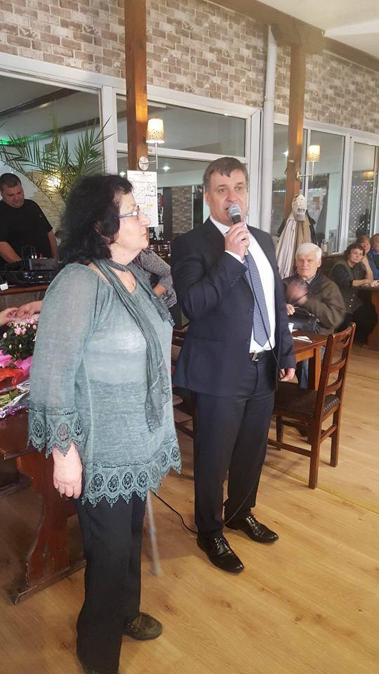 """Кметът Коев поздрави и възрастните дами от клуб """"Зорница"""" по случай международния ден на жената"""