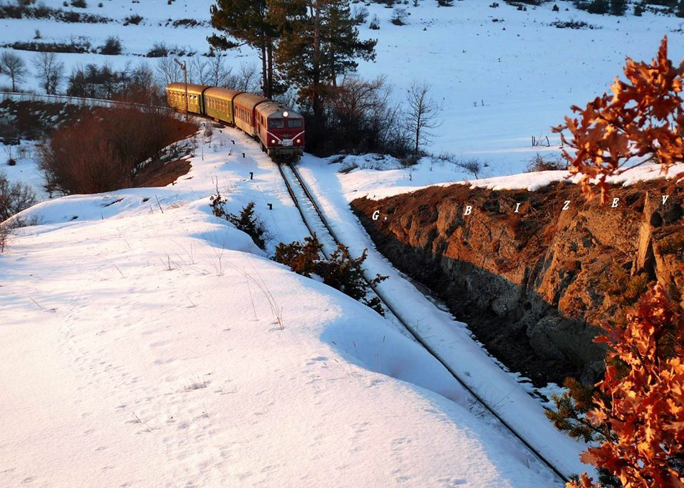 Теснолинейката Септември-Добринище е най-високата жп линия на Балканите