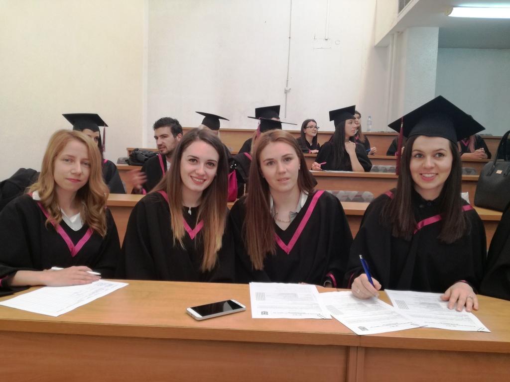 """151 абсолвенти получиха дипломите си от Факултет """"Обществено здраве, здравни грижи и спорт"""" на ЮЗУ """"Неофит Рилски"""""""