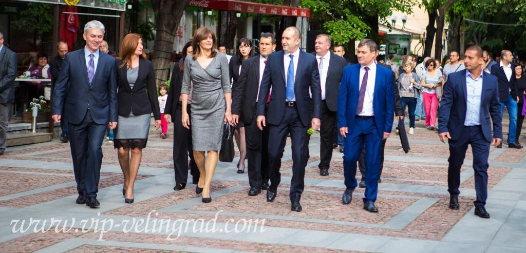 Държавният глава Румен Радев посети Велинград