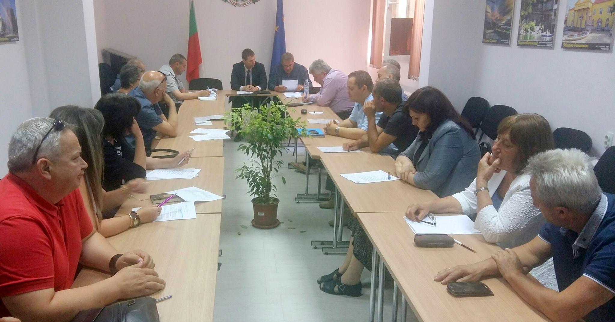 Планово заседание на Областния щаб за защита при бедствия проведе областният управител на Пазарджик – Стефан Мирев