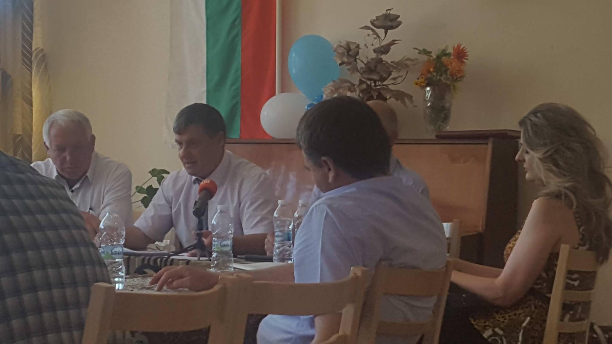 Първа работна среща за взаимодействие между институциите