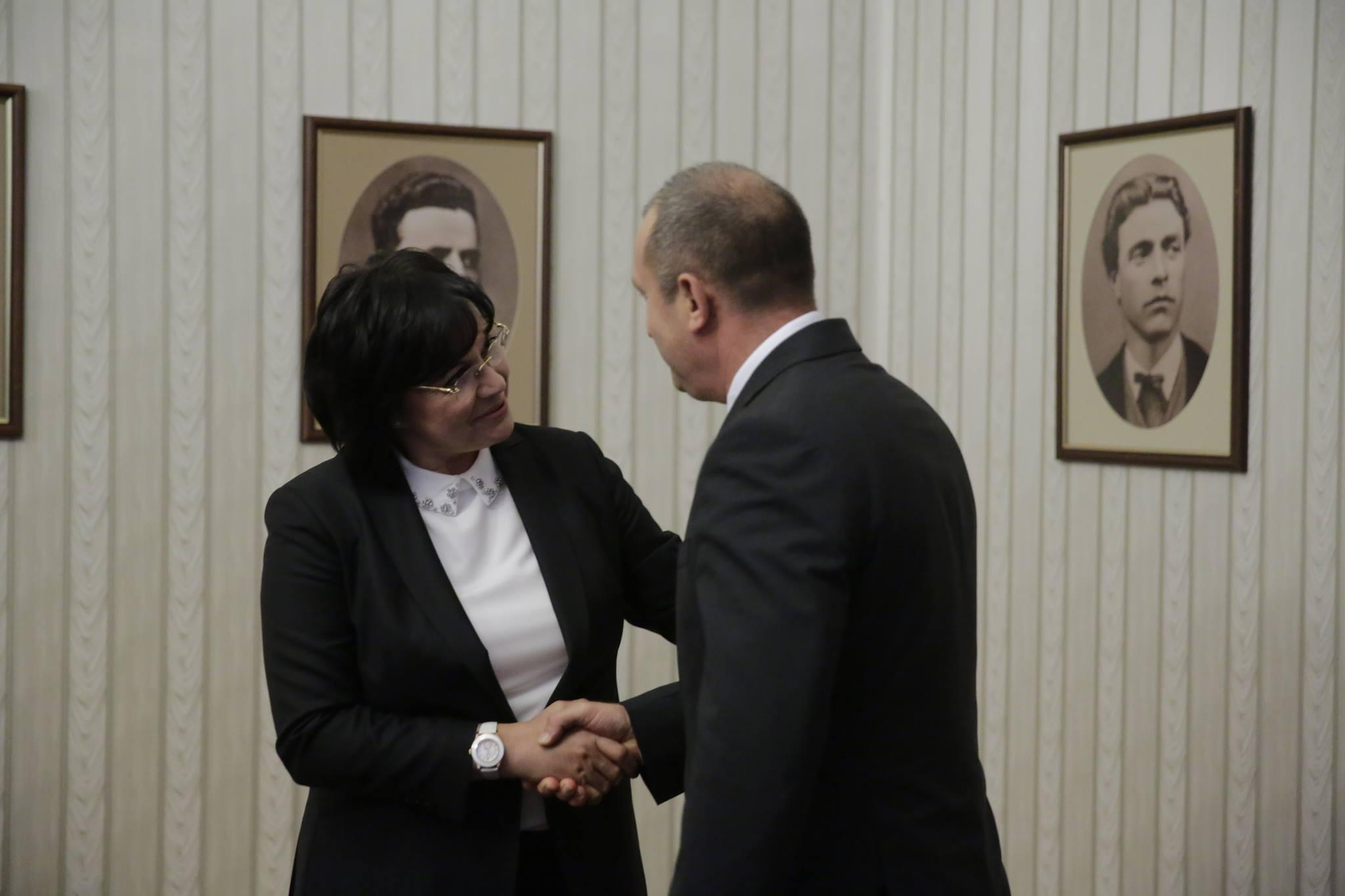 Корнелия Нинова: Президентът е готов да поеме отговорност да назначава председателя на антикорупционния орган