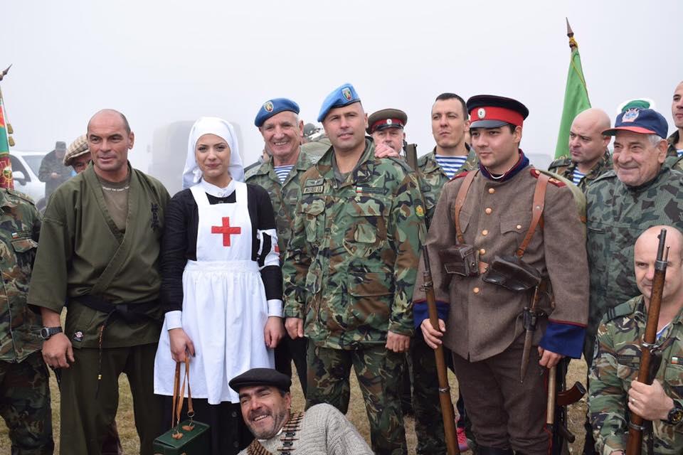 Днес на връх Велийца бяха отбелязани 105 години от избухването на Балканската война