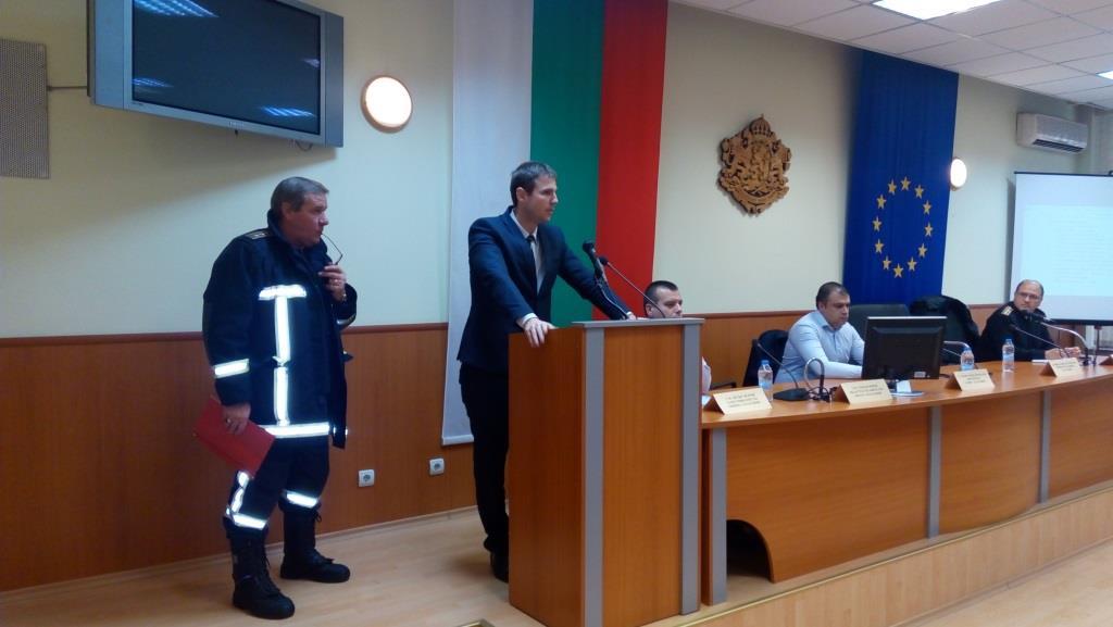 Днес на територията на Пазарджик се проведе мащабно пожаро-тактическо учение с участието на силите и средствата на основните съставни части на Единната спасителна система