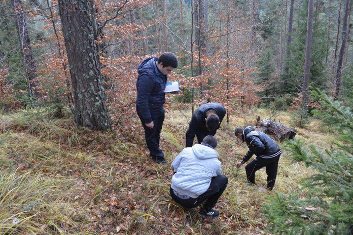 """Млади лесовъди от Велинград усвояваха професията в ловно стопанство """"Чепино"""""""