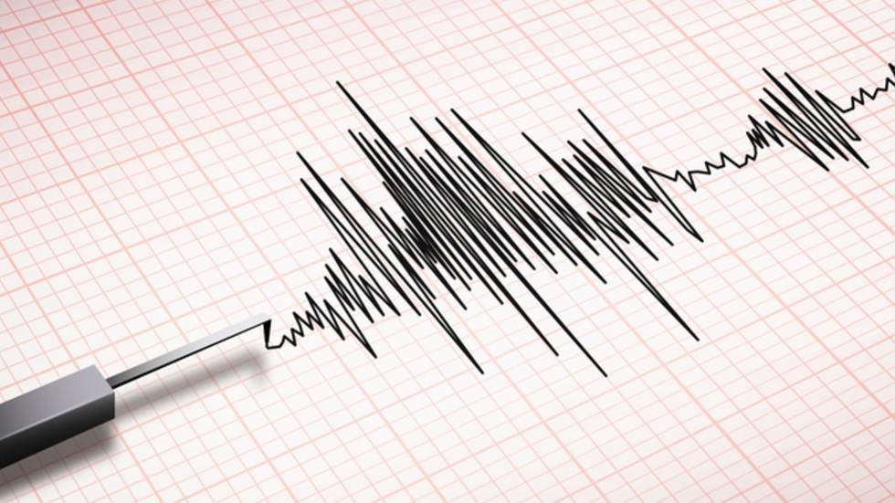 Тази вечер е регистрирано слабо  /за радост на всички ни/  земетресение