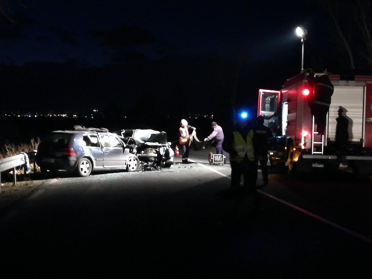 Велинградчанин е причинил катастрофа на пътя Пазарджик-Пловдив