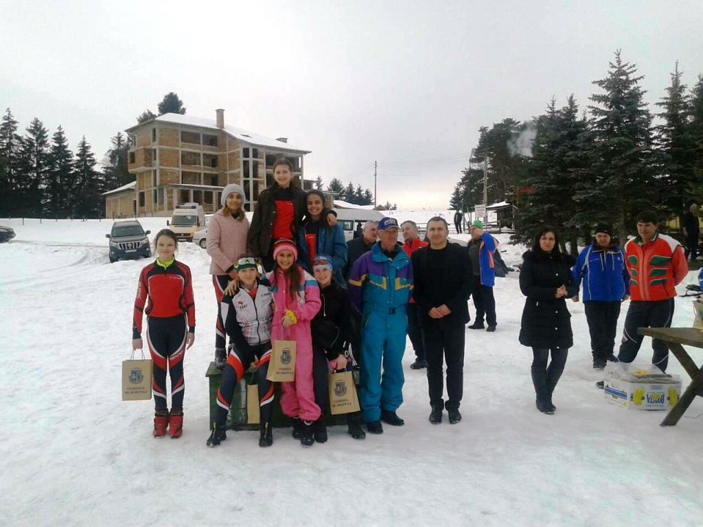 Национално състезание по ски бягане за деца с нарушено зрение