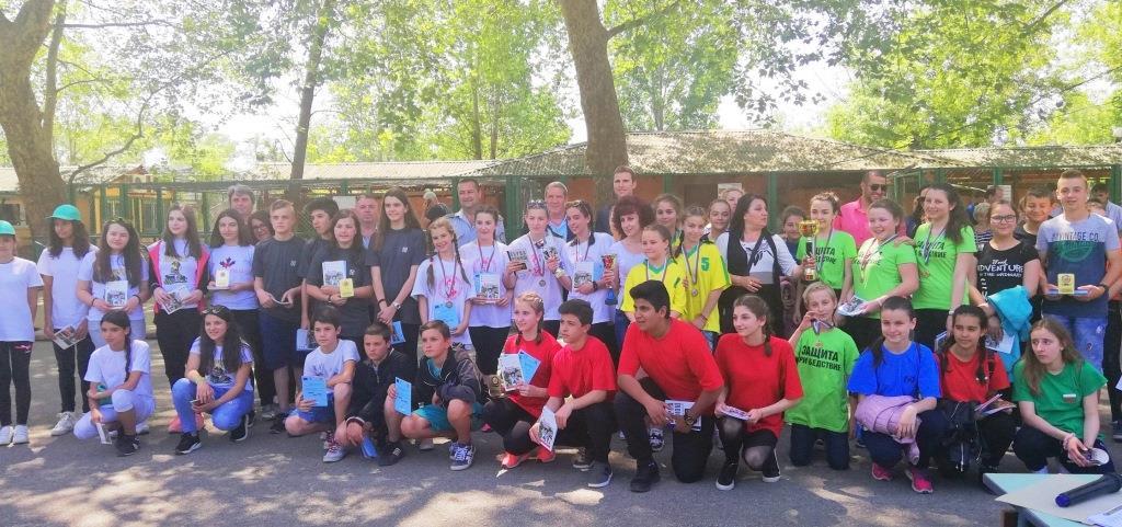 """Отборът на МГ """"Константин Величков"""" спечели областното състезание """"Защита при бедствия, пожари и извънредни ситуации"""""""