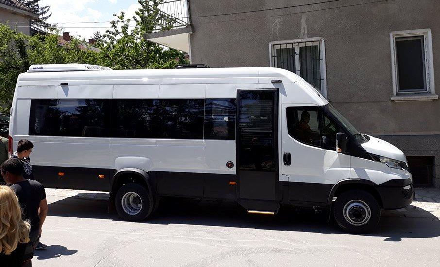 Дневният център за възрастни хора с увреждания с ново возило