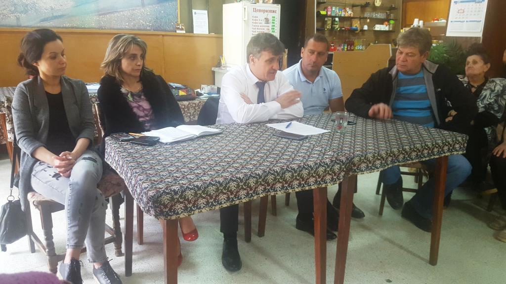 Кметът д-р Костадин Коев  отново проведе изнесен приемен ден, в Клуба на пенсионера в кв. Чепино