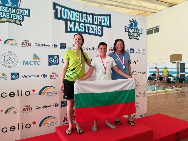 Велинградчанка носи 10 медала от Тунис, дебютира със злато в Средиземно море