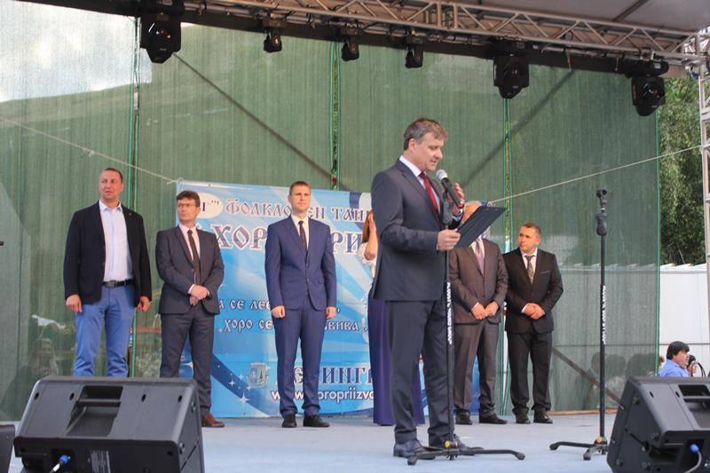 Кметът д-р Костадин Коев даде старт на Велинградски празници на културата-2018