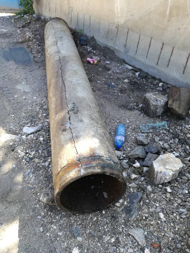Аварията на водопровода до часове ще бъде отстранена