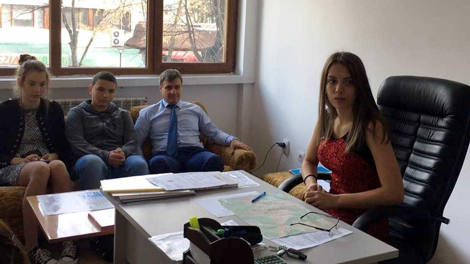 Нов кмет за един ден на Община Велинград