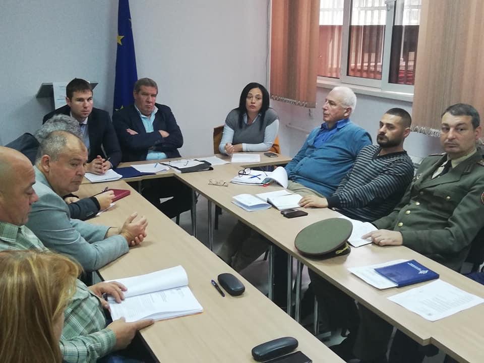Институциите докладваха на Областния управител готовността си за зимния сезон 2018/2019 г.