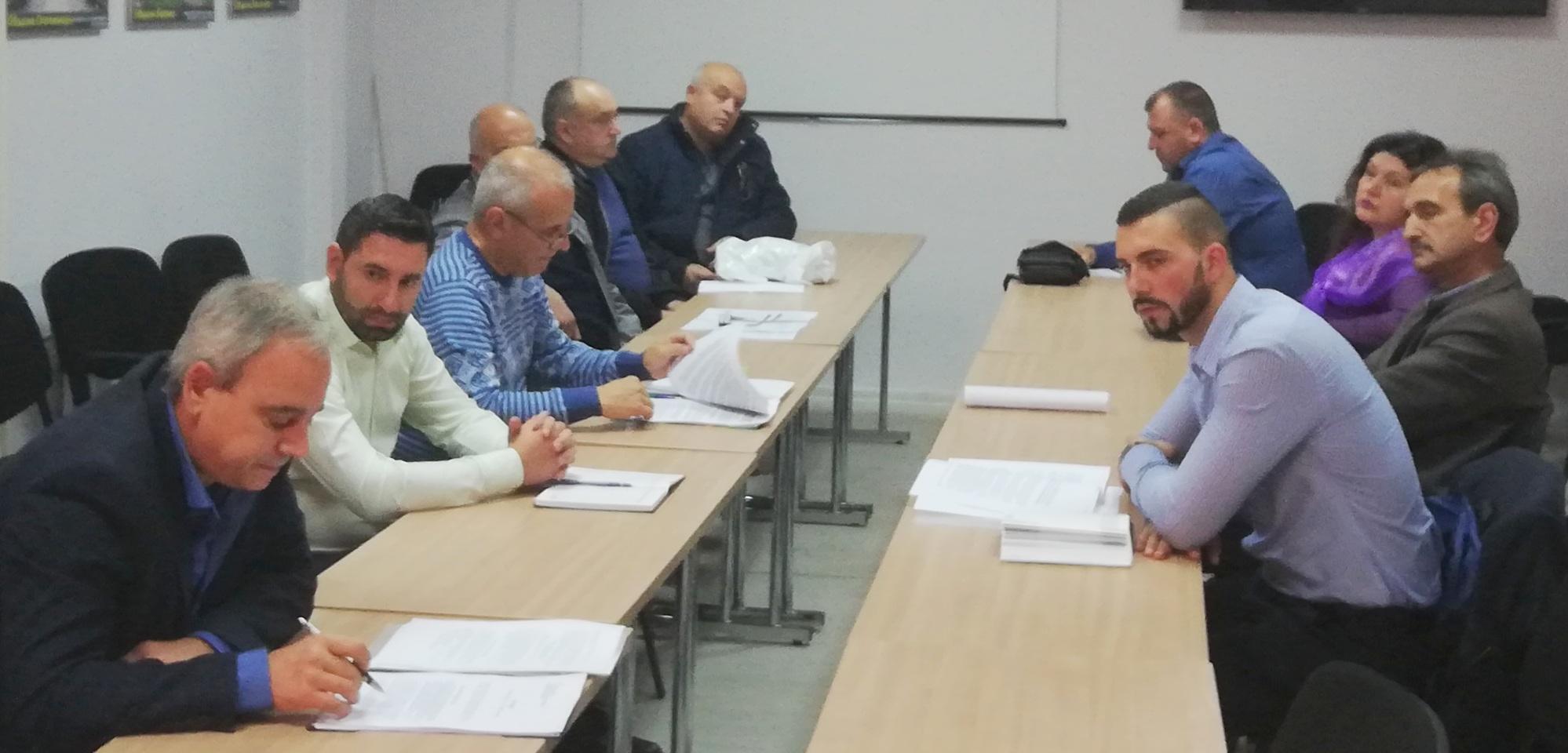 Областната комисия по безопасност на движението обсъди мерките за подобряване безопасността на движение до 2020г.