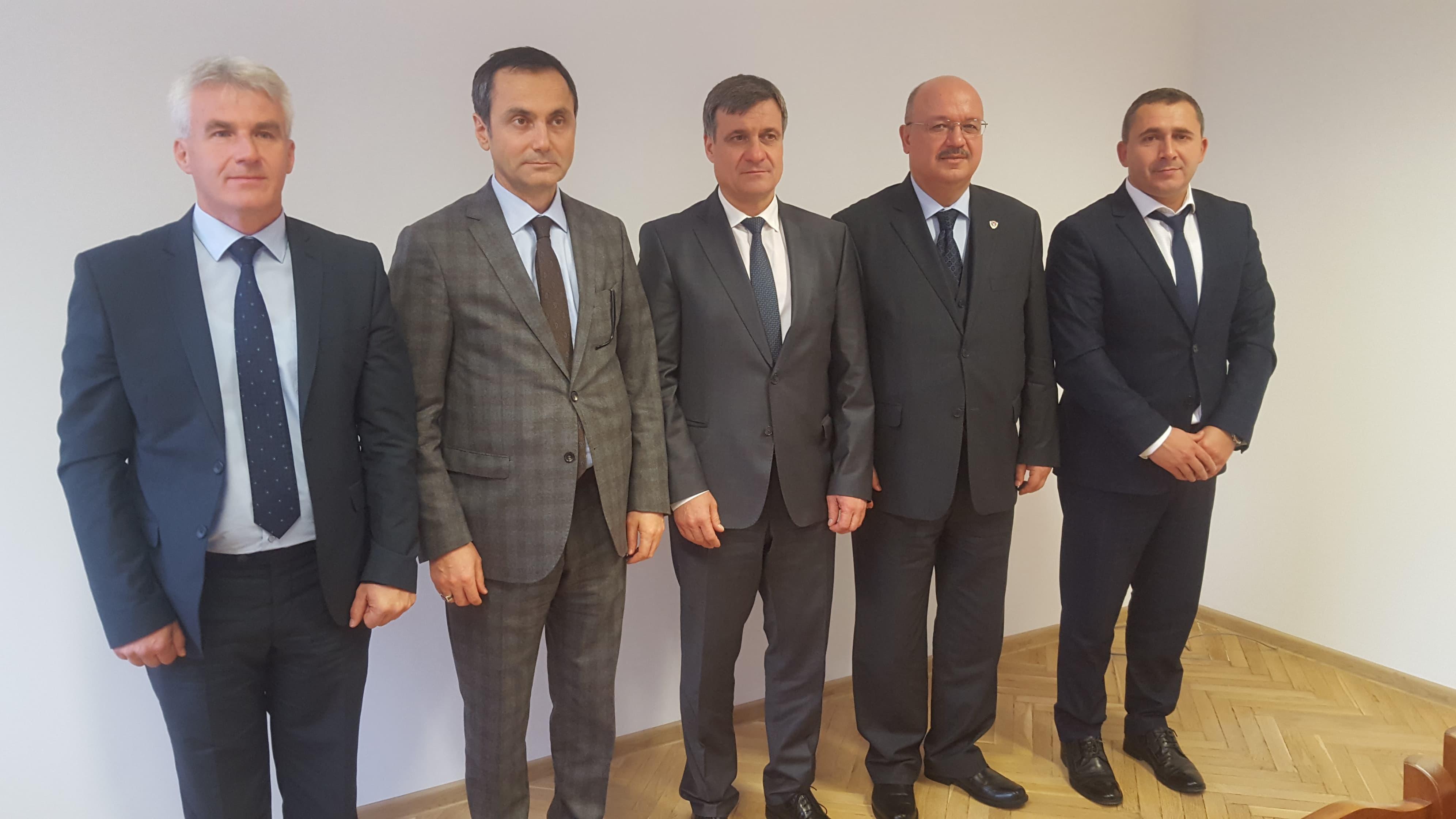Кметът д-р Костадин Коев прие генералния консул на Турция